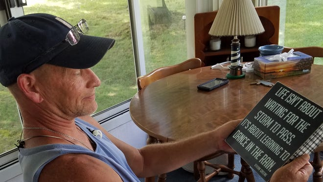 Harry James, a 50-year-old former firefighter and first responder from Hanover, has been dealt a tough hand and may soon find himself homeless.
