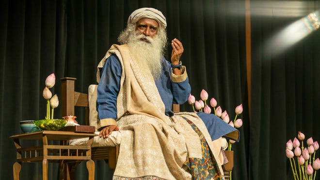 Sadhguru, an internationally known mystic yogi, founder of Isha and New York Times best-selling author, recently spoke in Nashville.