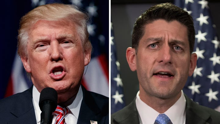 Donald Trump slams Paul Ryan in late-night Twitter rant: 'Couldn't get him out of Congress fast enough!'