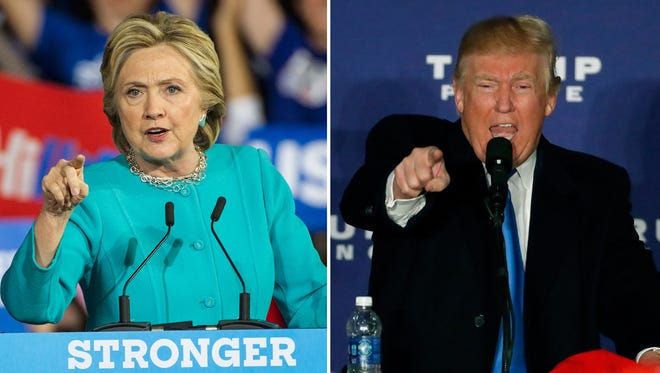 Hillary Clinton and Donald Trump on their final campaign swings before Election Day.