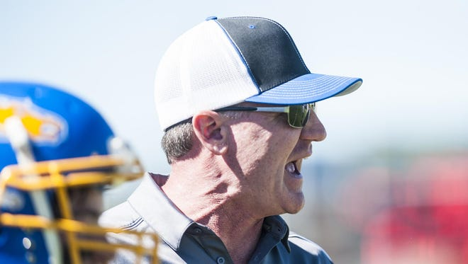 Great Falls Central assistant football coach Mike Nelson has resigned his post after three years as an assistant under former head coach Greg Horton, as well as a six-year stint as the Mustangs' head coach, to accept a position with the Montana Farmers Development Group.