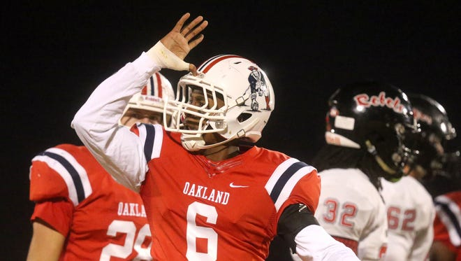 Oakland Kaleb Oliver was committed to Mississippi State at one time, but visited Ole Miss this past weekend.