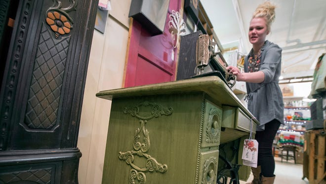 Molly York will expand her 'upcycled' furniture store from Refindings to Royal Square in York.