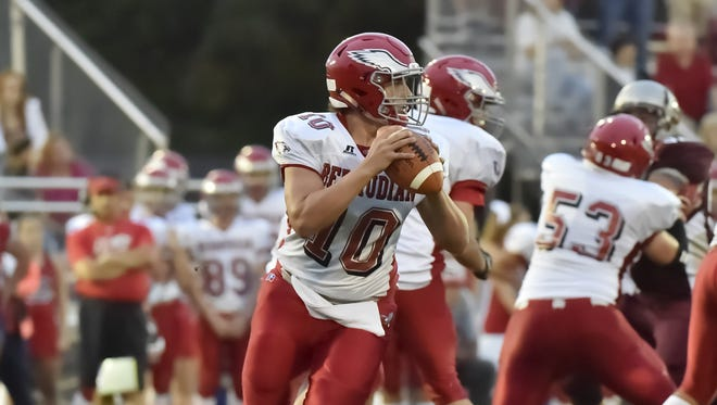 Bermudian Springs quarterback Chase Dull has battled ACL injuries the last two seasons but made major strides under center in 2016.