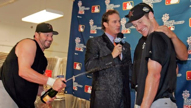 Steve Lyons was on a leave of absence from his broadcasting job with NESN.