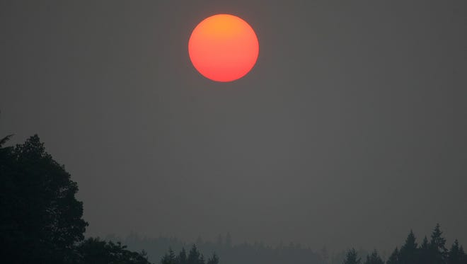 Smoke  from fires in British Columbia is expected to clear out of the area Friday or Saturday.