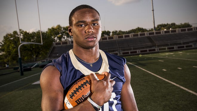 Cathedral running back Markese Stepp is headed to Notre Dame.