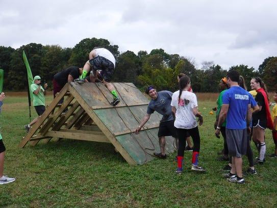 Nearly 400 participants enjoyed 10 obstacle-stations