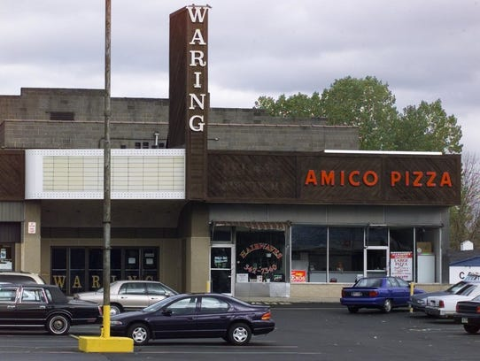 Oct. 1997: The Waring Theater, one of three movie theaters