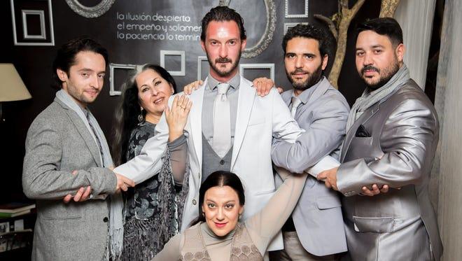 Victor Bravo and Company, will headline the three-day Ithaca Flamenco Festival.
