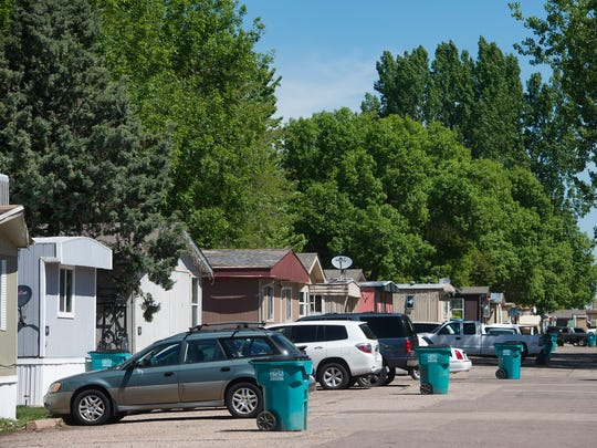 More than 300 units make up Poudre Valley Mobile Home Park on North College Avenue just outside Fort Collins city limits.