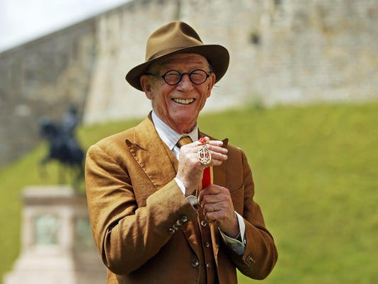 Sir John Hurt Receives Knighthood