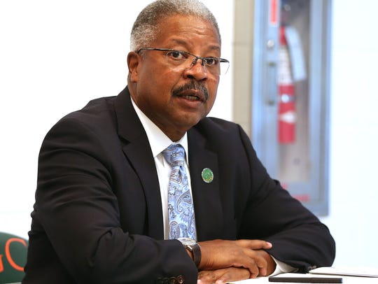 Rodner Wright, interim provost and vice president for
