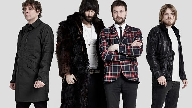 Ian Matthews, Sergio Pizzorno, Tom Meighan and Chris Edwards make up Kasabian.