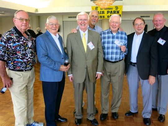 Fair Park Class of 1958 alums gathering together at