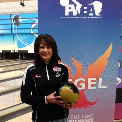 Catie Jensen of Fort Worth, Texas, finished 31st at the Super Bowl-hosted PWBA Detroit Open.