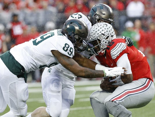 Michigan State and Ohio State football