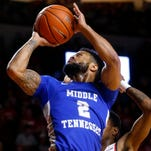 Antwain Johnson, Nick King lead MTSU men's basketball over Charlotte for fifth straight win