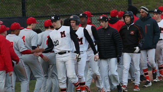 North Rockland defeated Mamaroneck 4-1 in a boys baseball