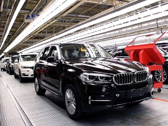 Bmw Plant Greenville Sc >> BMW reports increase in X5 deliveries this year