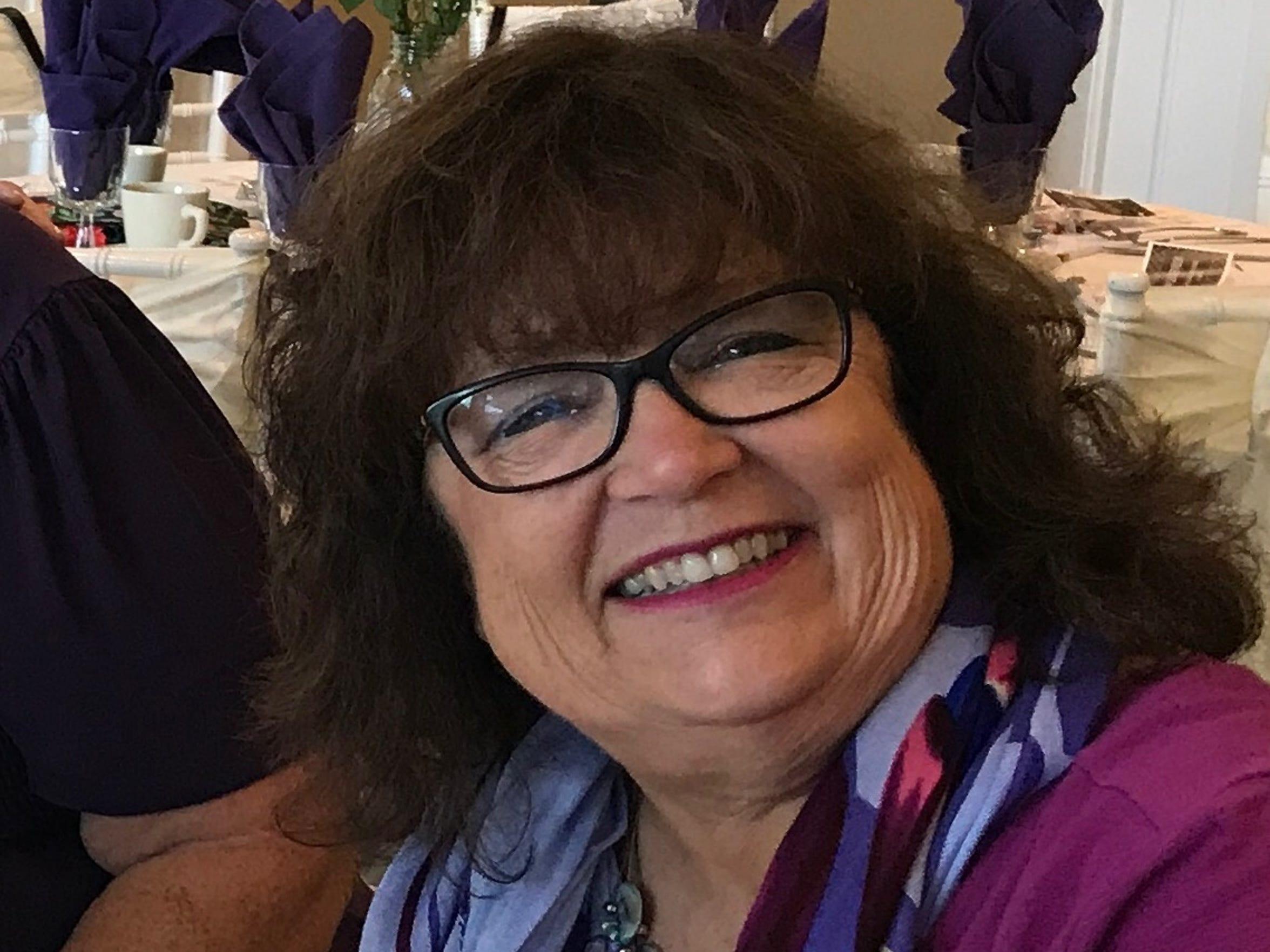 Karin Krenek, the drama director at Donovan Catholic