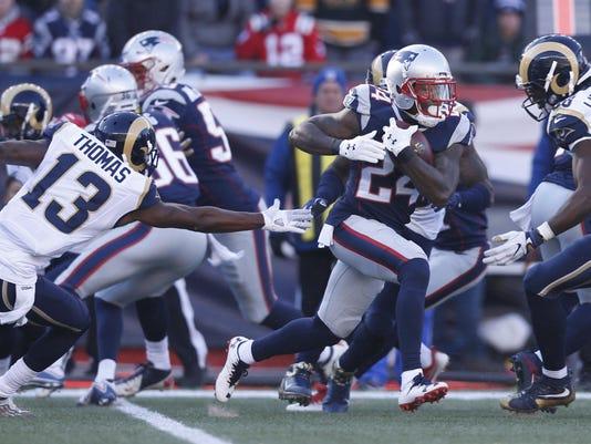 NFL: Los Angeles Rams at New England Patriots