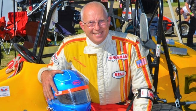 Paul Graybrook, 60, was killed in a midget car crash at the Illinois State Fairgrounds.
