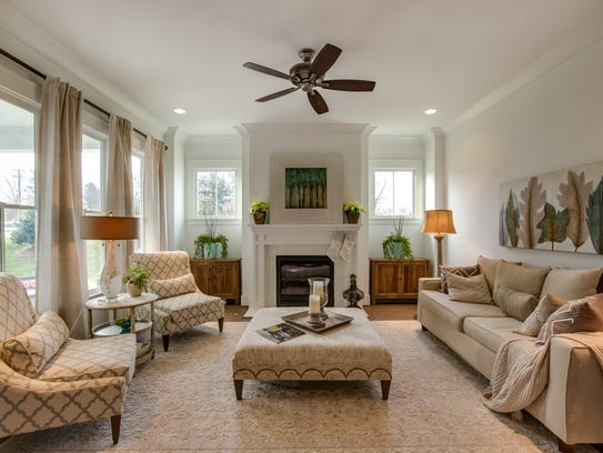 The Celebration model home in Berry Farms features