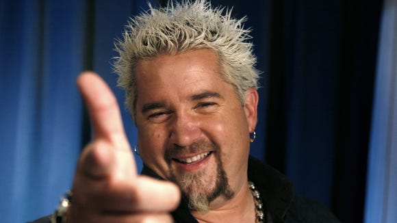 """Diners, Drive-ins and Dives"" host Guy Fieri"