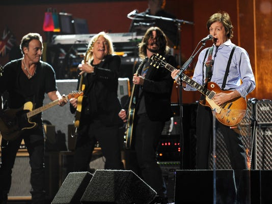 Paul McCartney Bruce Springsteen