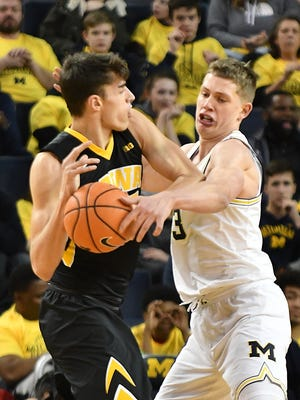 Moritz Wagner and the Michigan Wolverines head to New York next week for the Big Ten tournament.