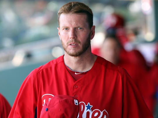 Former Phillies and Blue Jays ace Roy Halladay died in a plane crash last year.