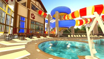 Great Wolf Lodge has just announced that one of its new water slides at the new Gurnee resort will be the Double Whirlwind.