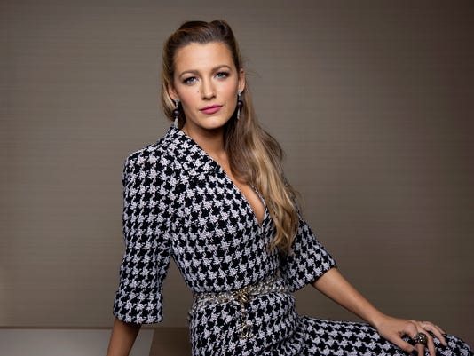 AP PEOPLE BLAKE LIVELY A ENT FILE USA NY