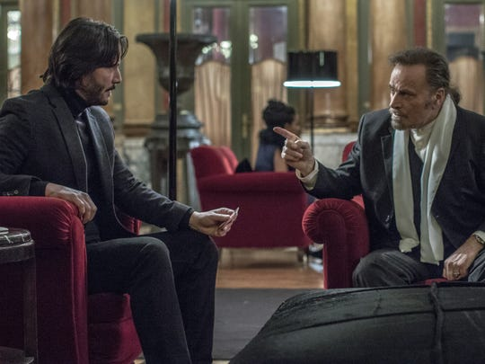 """Keanu Reeves (left) and Franco Nero star in """"John Wick: Chapter 2."""""""