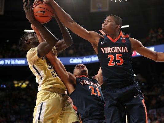 NCAA Basketball: Virginia at Georgia Tech
