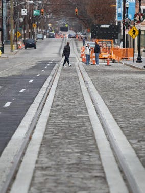 Roadwork related to Cincinnati streetcar construction is likely to affect drivers Tuesday and Wednesday.