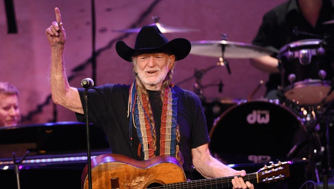 Willie Nelson performs Feb. 5 in Los Angeles.