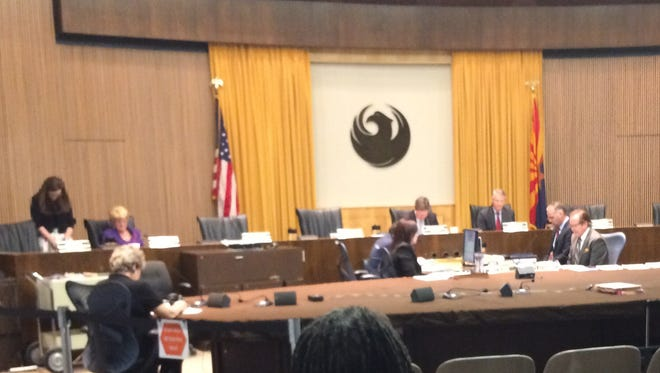 Mayor Greg Stanton called for a moment of silence at the Feb. 17 meeting of the city council. It was the first time in decades the meeting had not opened with a prayer.