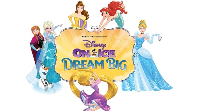 Discounted tickets available to Disney On Ice Dream Big on October 6-9th at Bridgestone Arena in Nashville.