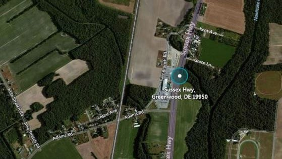 A 47-year-old pedestrian was critically injured when he tried to cross U.S. 13 early Wednesday.