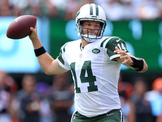 Ryan Fitzpatrick will be playing his second game as