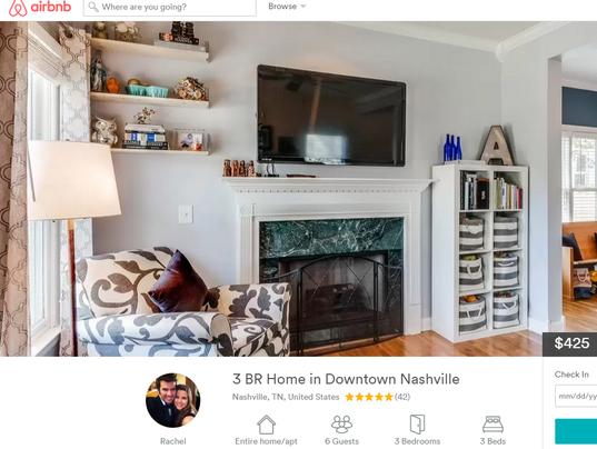 Judge Nashville 39 S Airbnb Law Unconstitutional