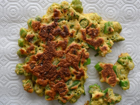 Frying okra takes away its infamous slime.