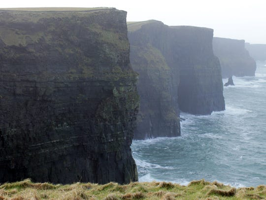 The Cliffs of Moher, County Clare, Ireland. February 2014.
