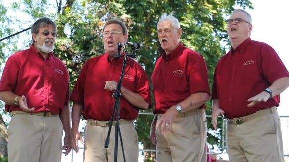 A Chorus of the Genesee quartet performs at an event in 2013. (Photo: S. Caso)