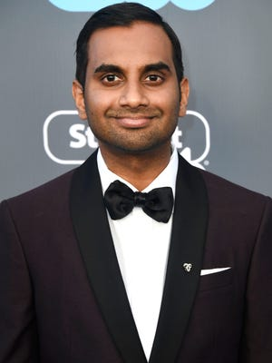 903977992.jpg SANTA MONICA, CA - JANUARY 11:  Actor Aziz Ansari attends The 23rd Annual Critics' Choice Awards  at Barker Hangar on January 11, 2018 in Santa Monica, California.  (Photo by Frazer Harrison/Getty Images)