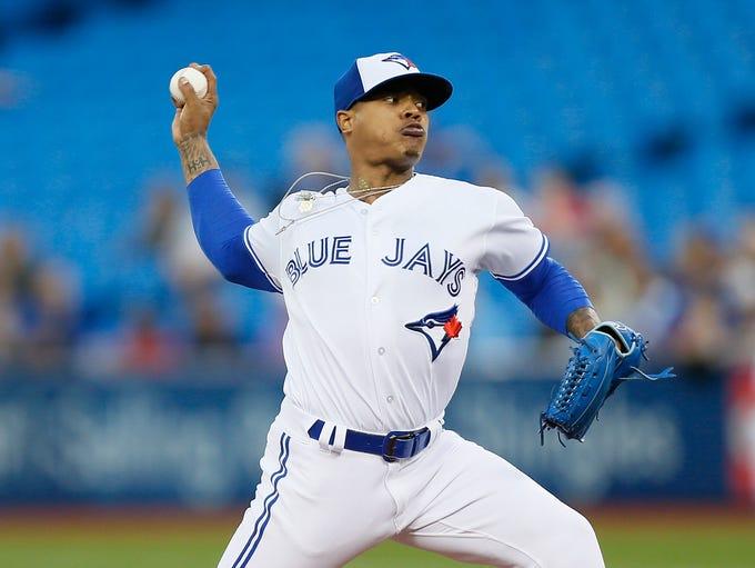 Pitcher, AL: Marcus Stroman, Blue Jays (1st)