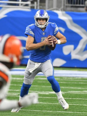 Quarterback Matthew Stafford has been able to rescue the Lions from slow starts.