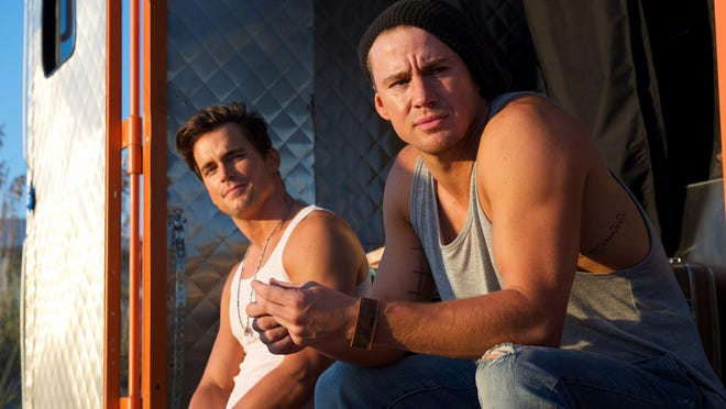 "Matt Bomer and Channing Tatum star in ""Magic Mike XXL."""